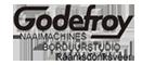 Godefroy Naaimachines en Borduurstudio logo